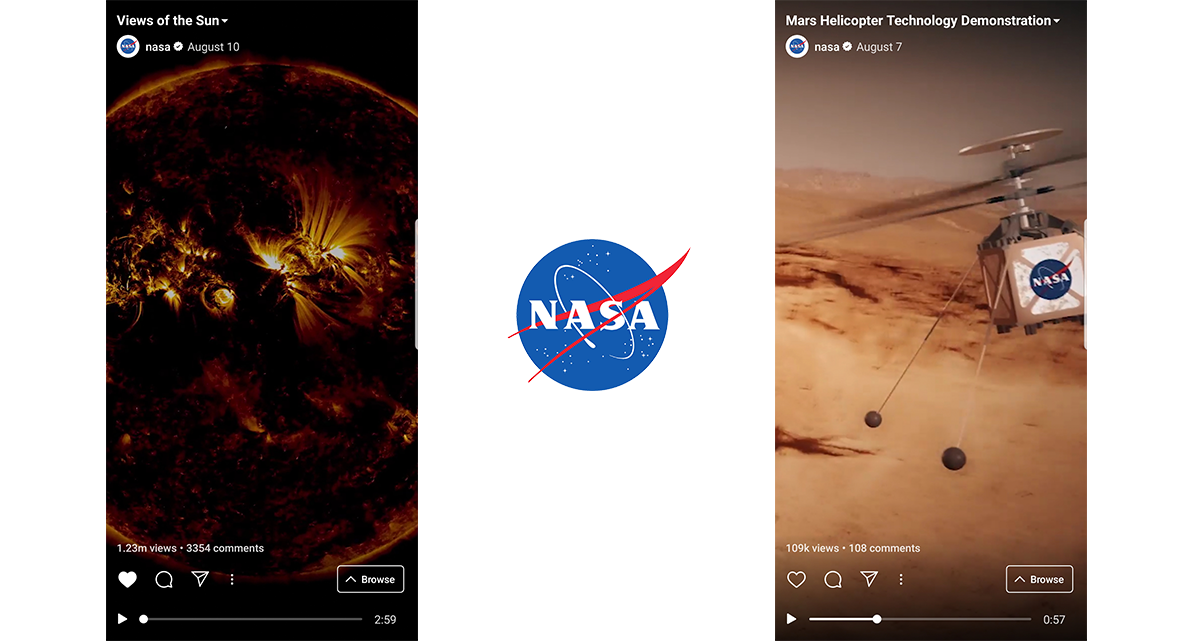 NASA IGTV