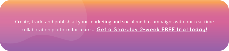 Try Sharelov for free. Start your 2-week free trail today!