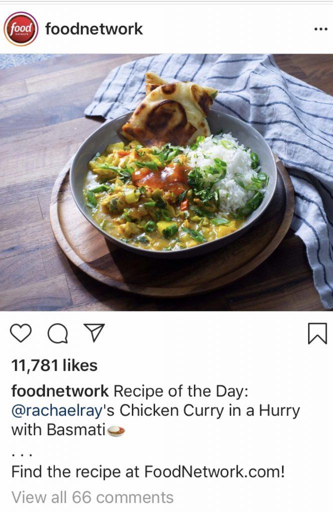 url cta in caption on instagram