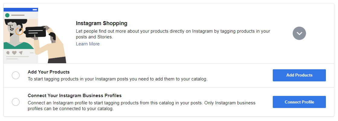 Facebook Catalog setup step five