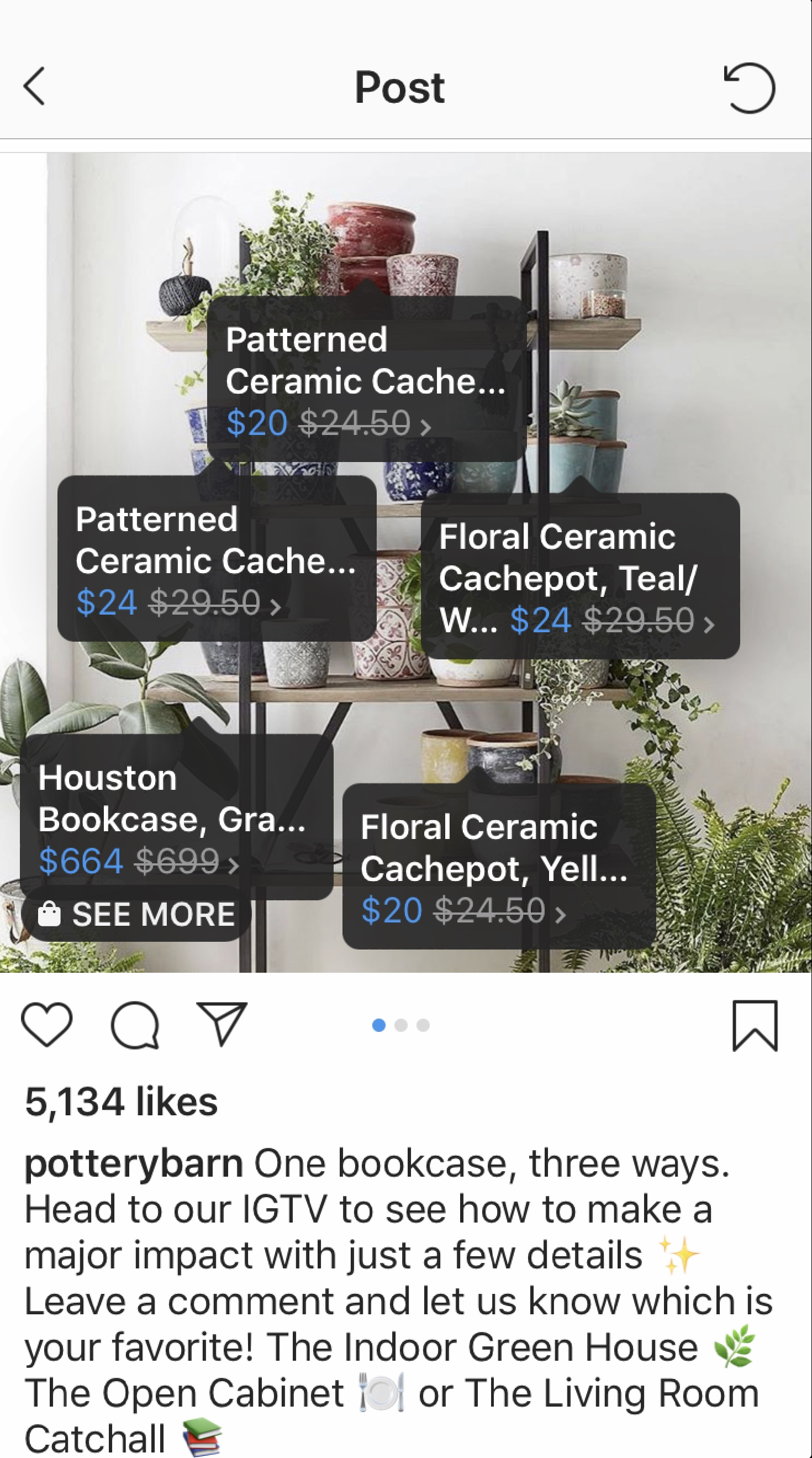 Potter Barn Shopping Stickers Instagram