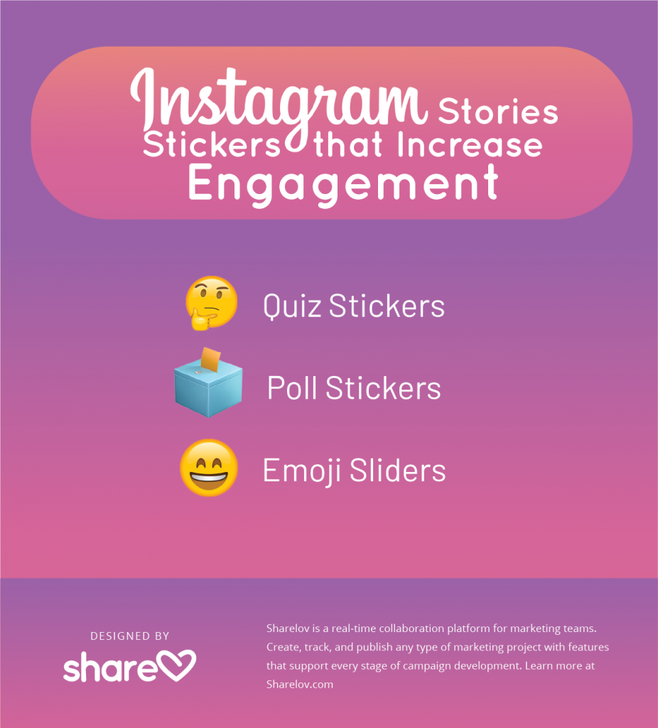 Instagram Stories Stickers that Increase Engagement
