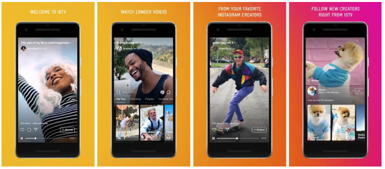 IGTV examples