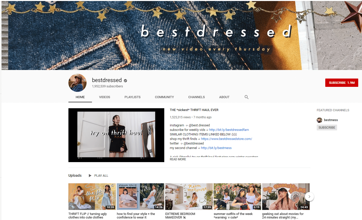 best dressed haul youtube trending