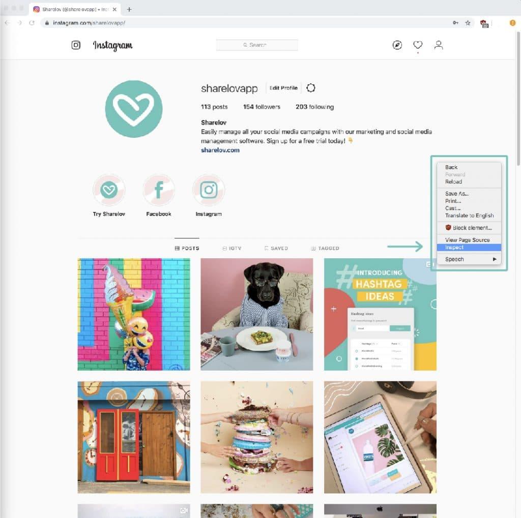 Open Chrome Developer Tools