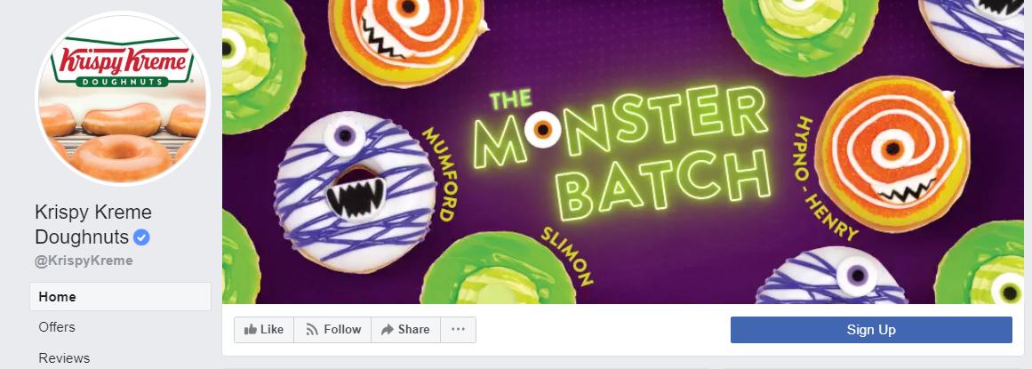 Krispy Kreme Facebook