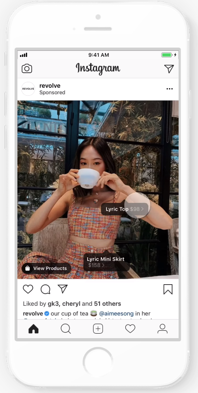 IG shopping post ads 1