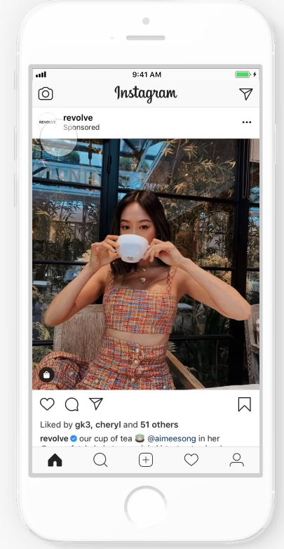 IG shopping post ads 3