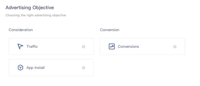 TikTok ads Advertising ObjectivesTikTok ads Advertising Objectives