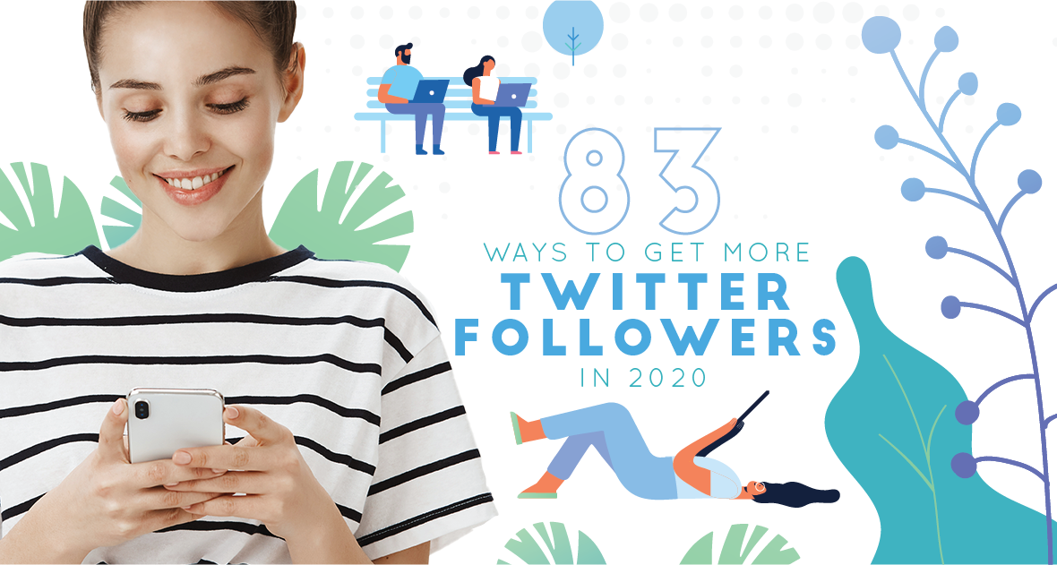 How to Get More Twitter Followers - 83 Tips for Marketers - cover