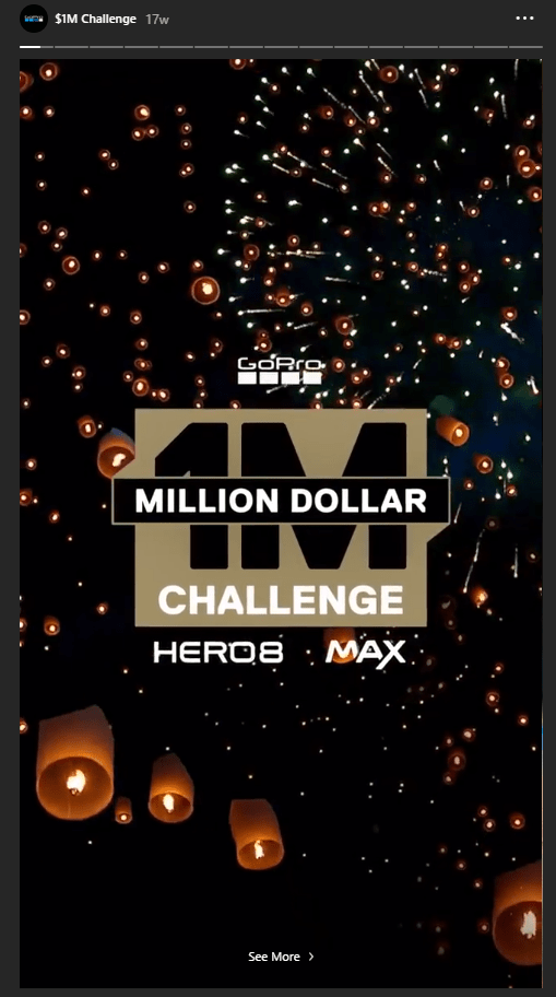 gopro hero8 challenge 1