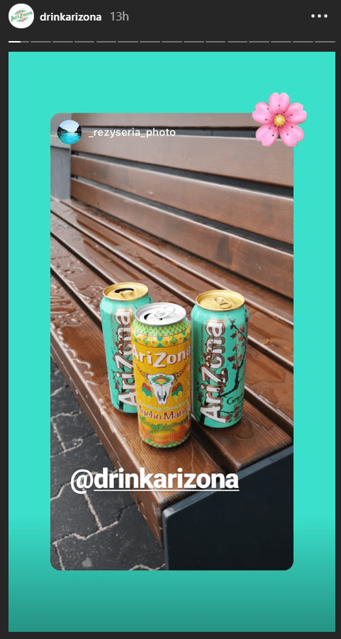 Brand mentions drink arizona