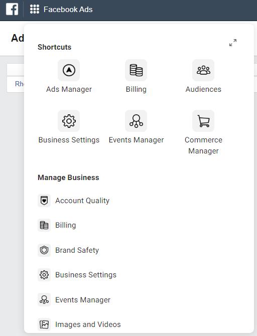Ads manager IG Facebppl