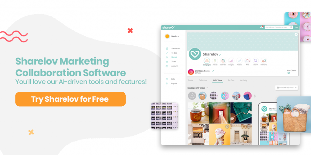 Sharelov Marketing Collaboration Software You'll love our AI-driven tools and features!