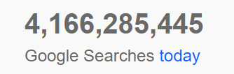 Google ads stat searches pd
