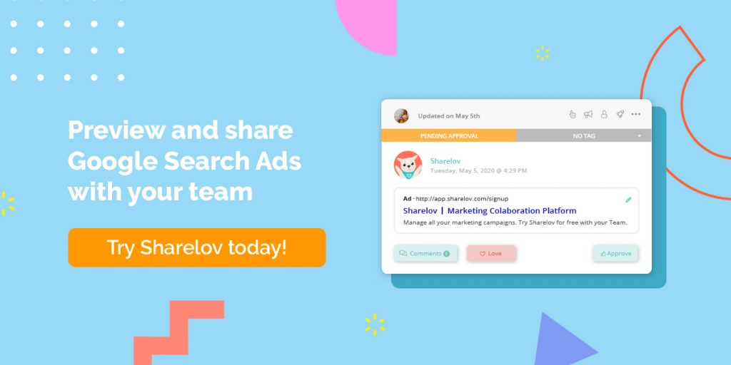 Preview and share Google Search Ads with your team