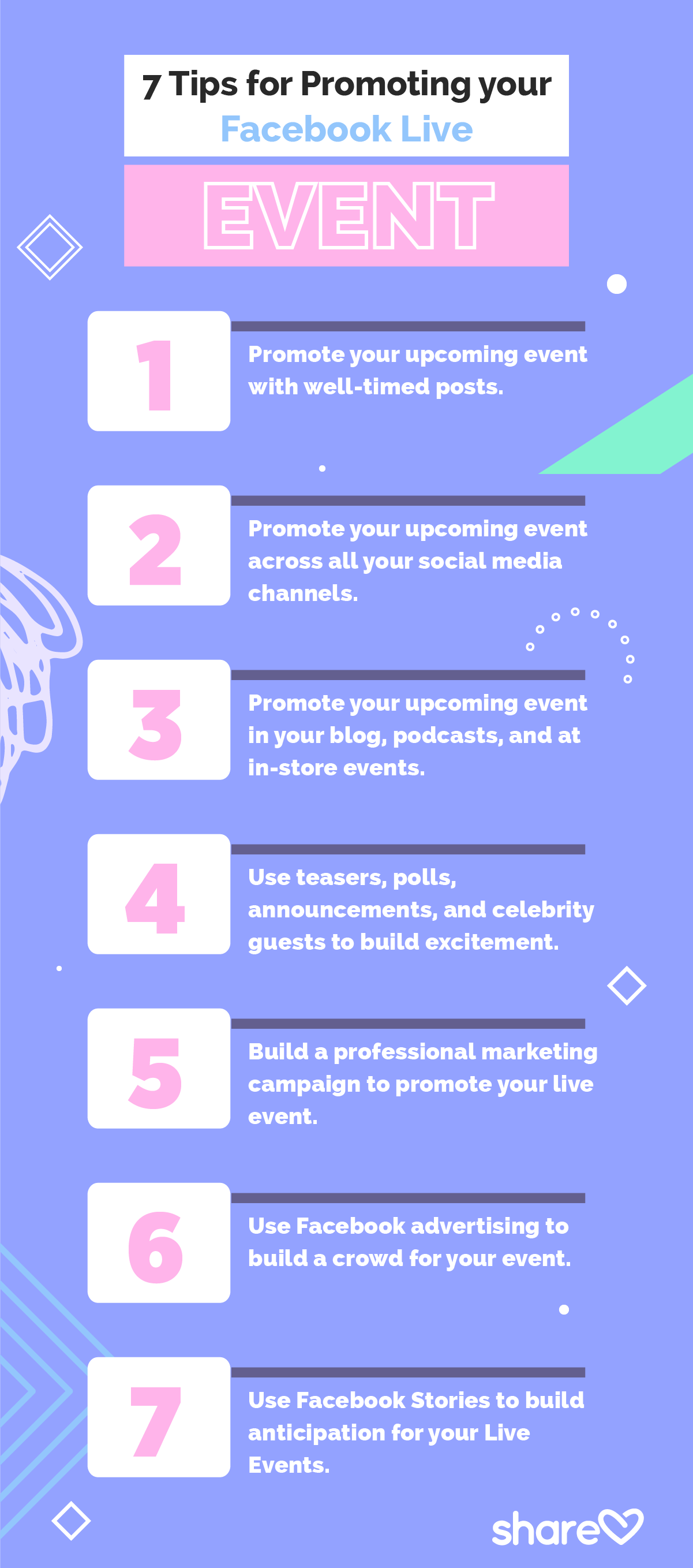 7 Tips For Promoting Your Facebook Live Event