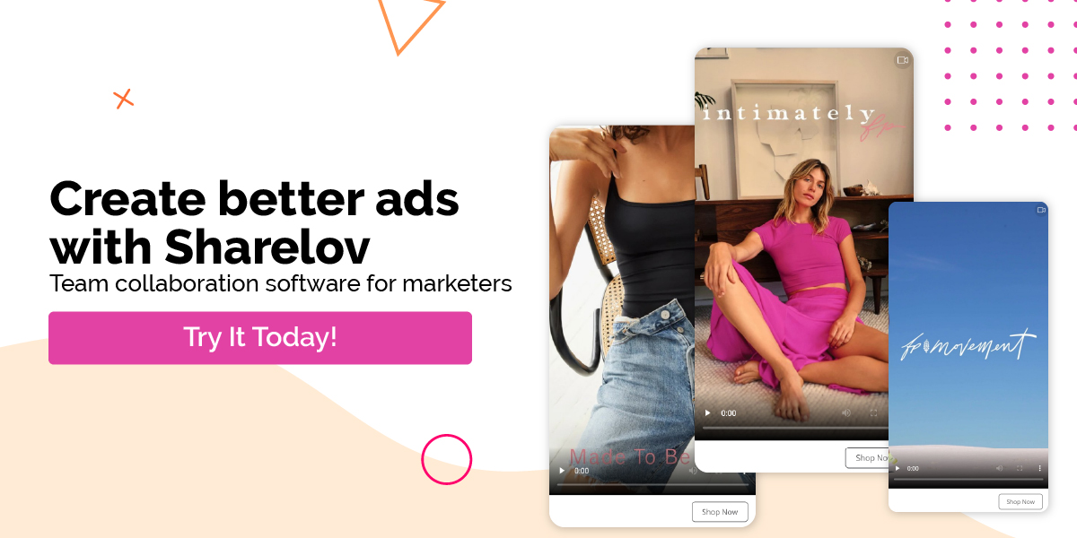 Create better ads with Sharelov Team collaboration software for marketers