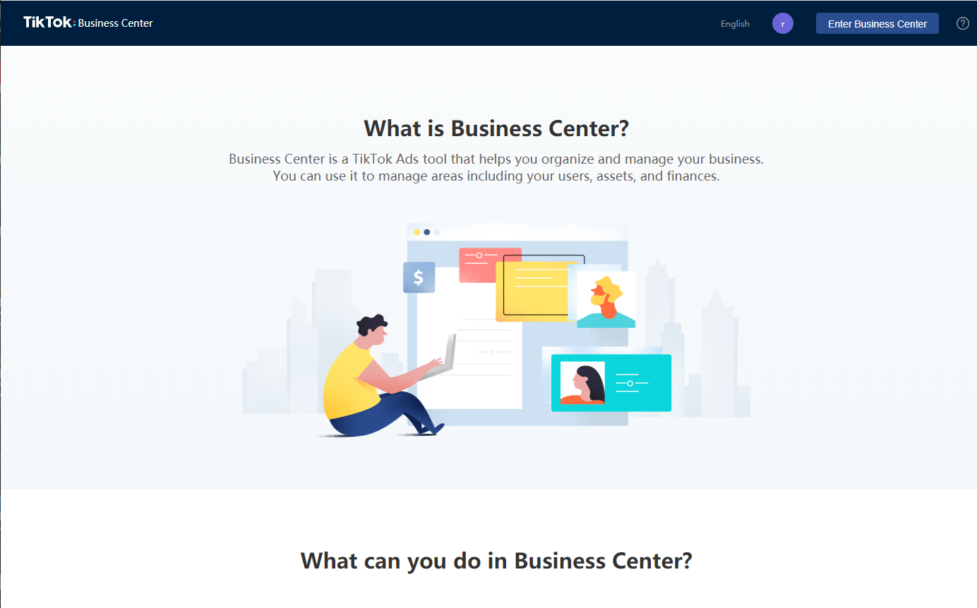 TikTok Business Center