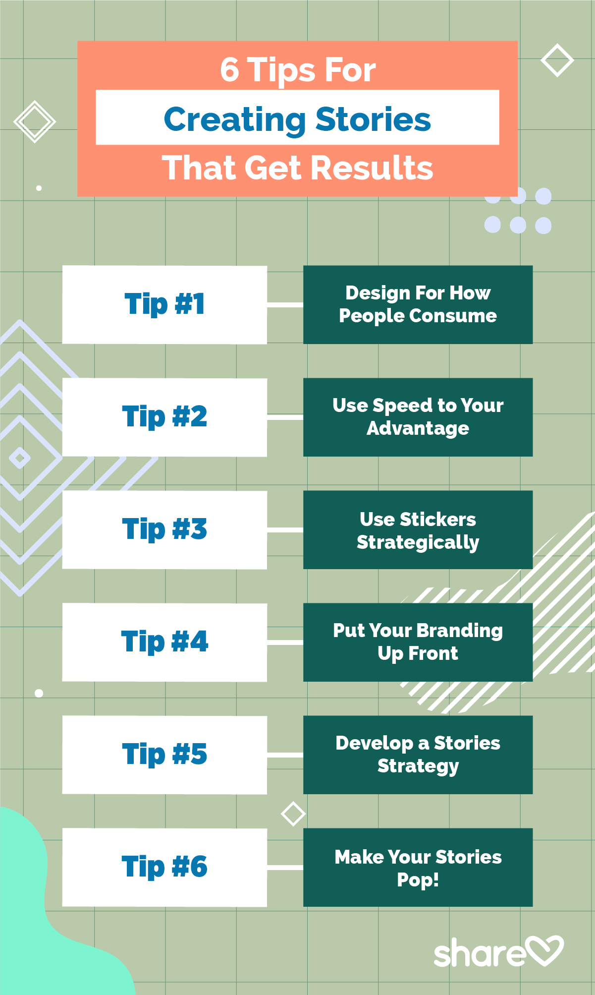 6 Tips For Creating Stories That Get Results