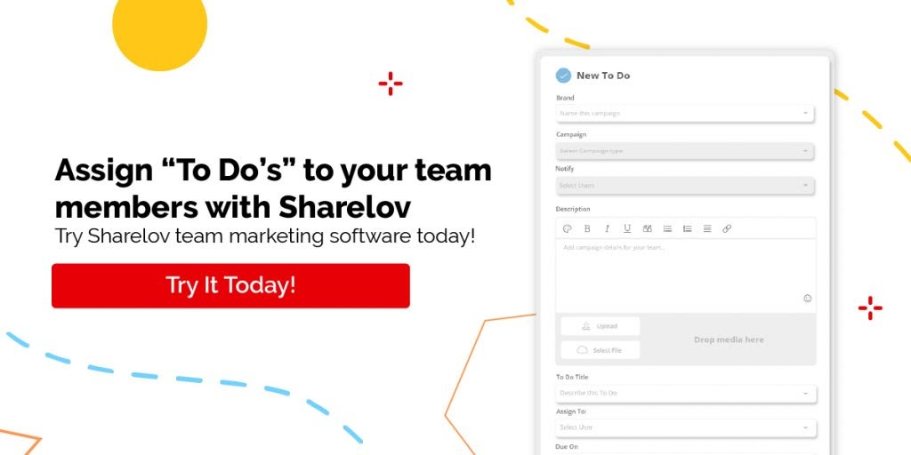 Assign To Do's to your team members with sharelov