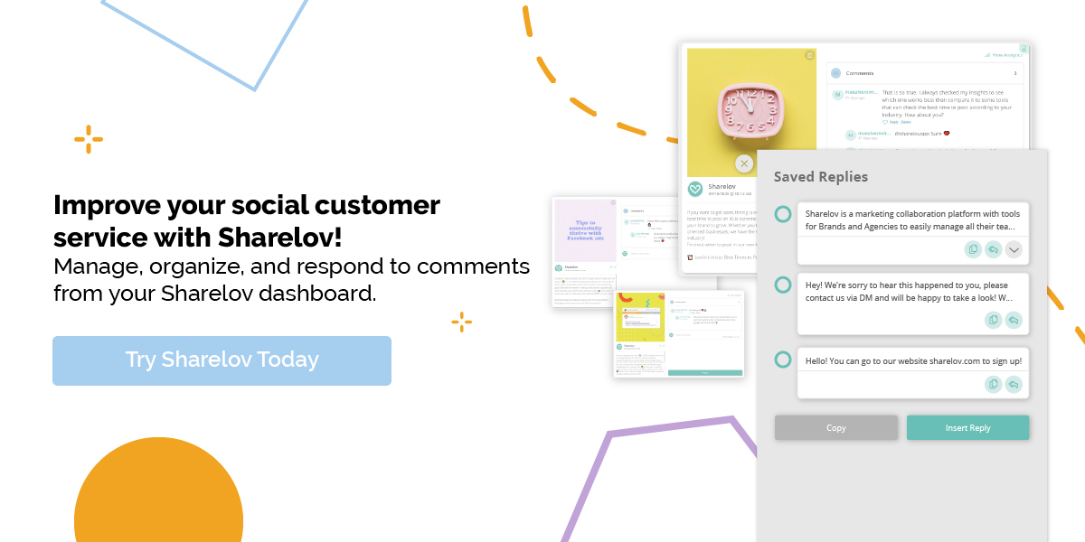 Improve your social customer service with Sharelov