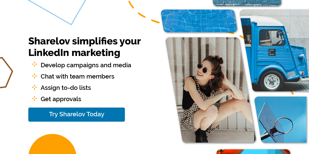 Sharelov simplifies your LinkedIn marketing