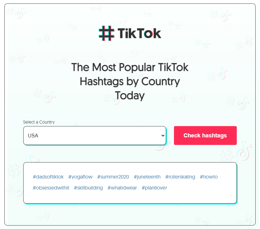 trending hashtag tool influencer marketing
