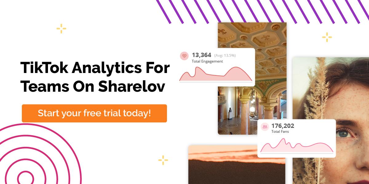 TikTok Analytics For Teams On Sharelov