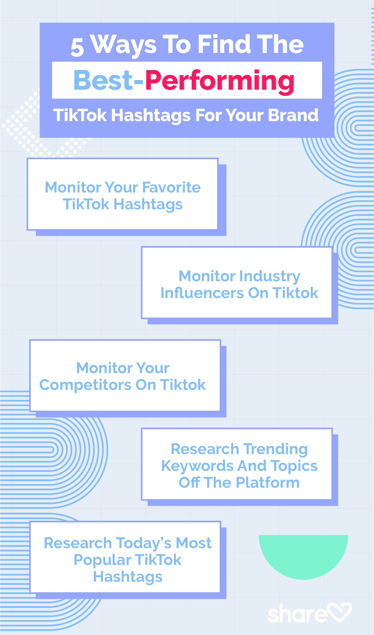 5 Ways To Find The Best-Performing TikTok Hashtags For Your Brand