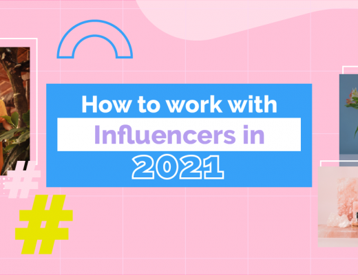 How to Work with Influencers in 2021 - cover