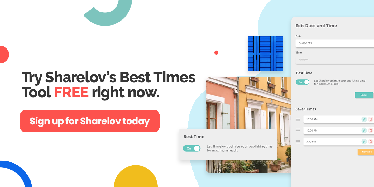 Try Sharelov's Best Times Tool FREE right now