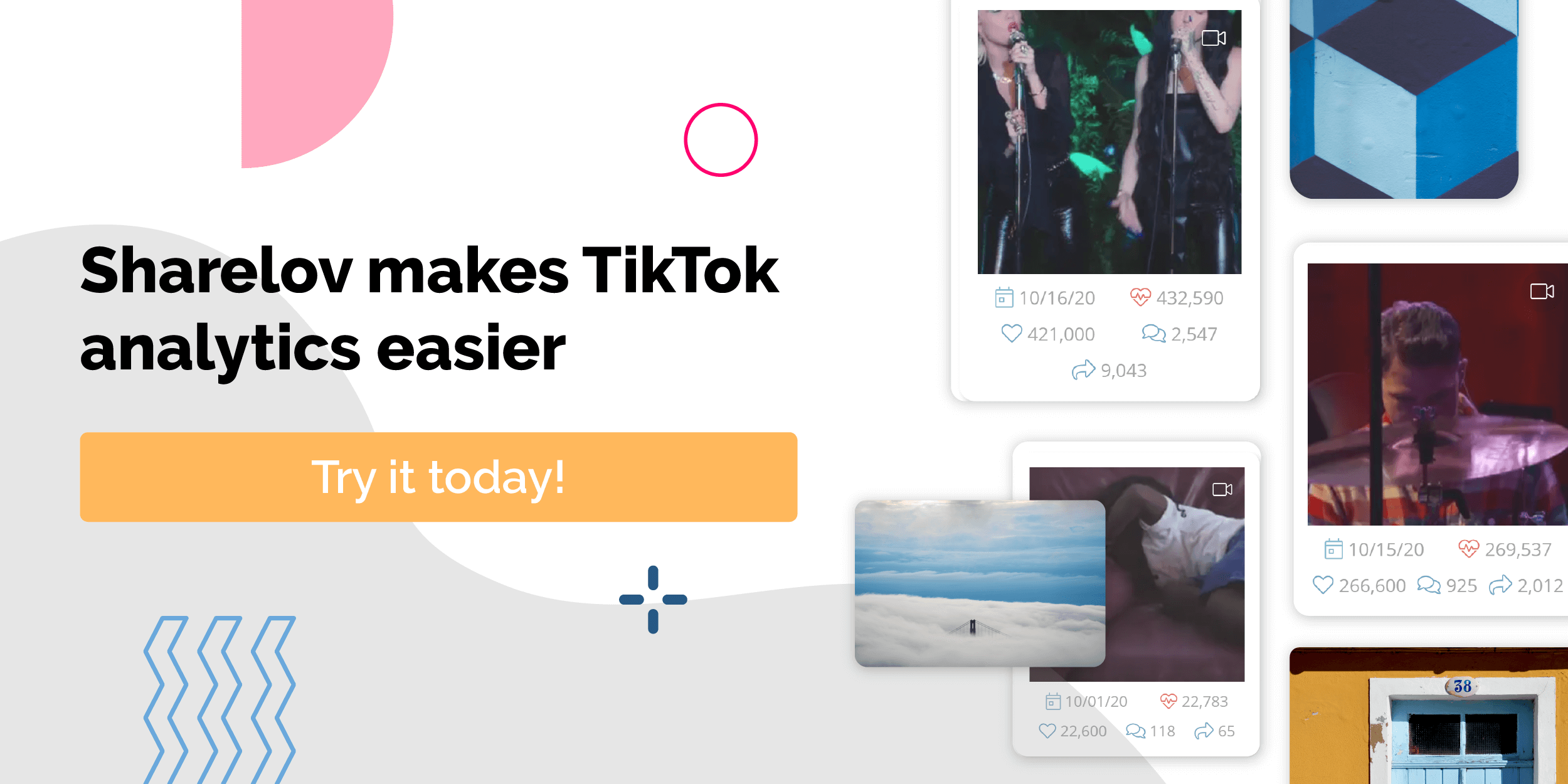 Sharelov makes TikTok analytics easier