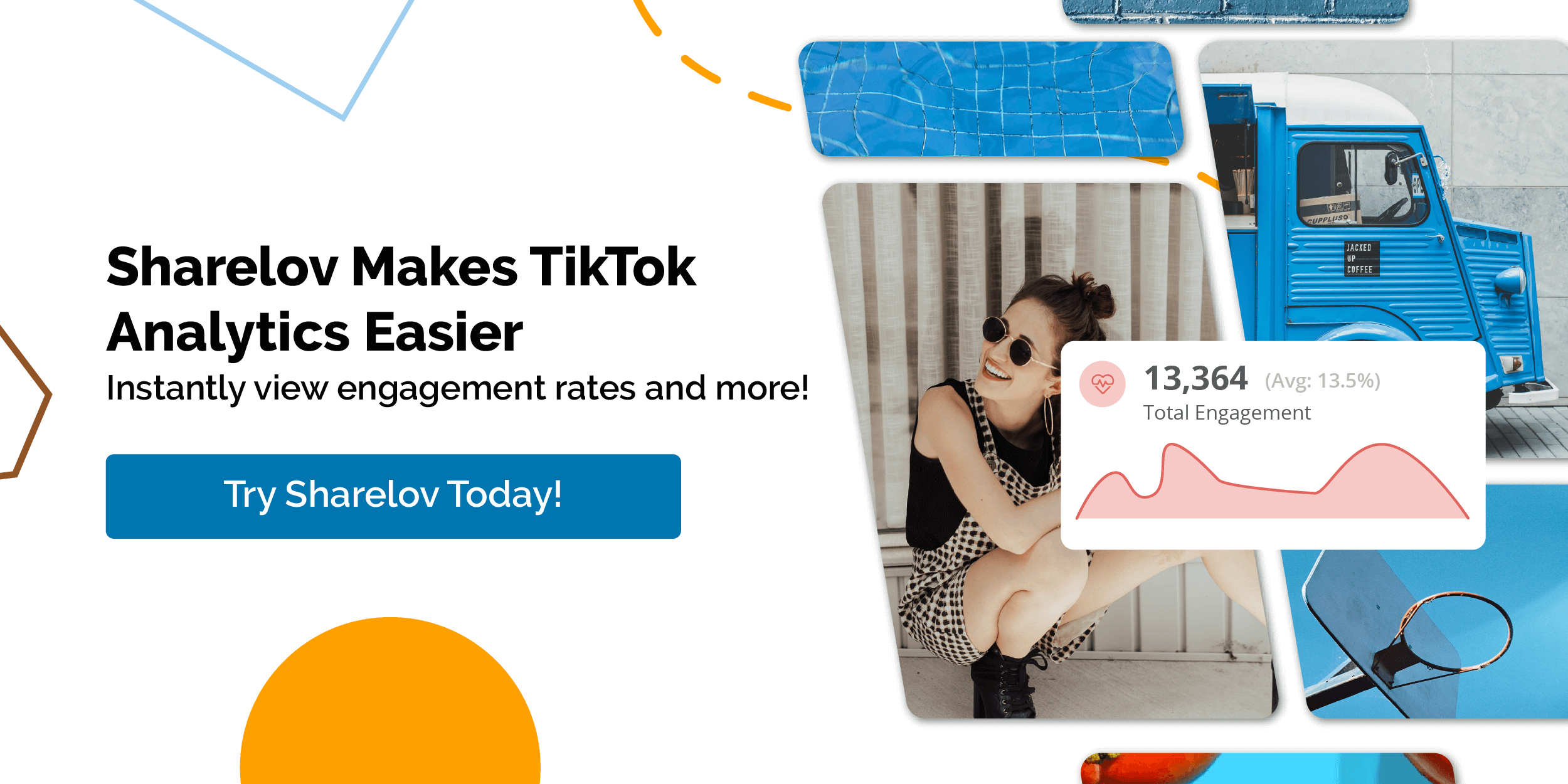 Sharelov Makes TikTok Analytics Easier Instantly view engagement rates and more
