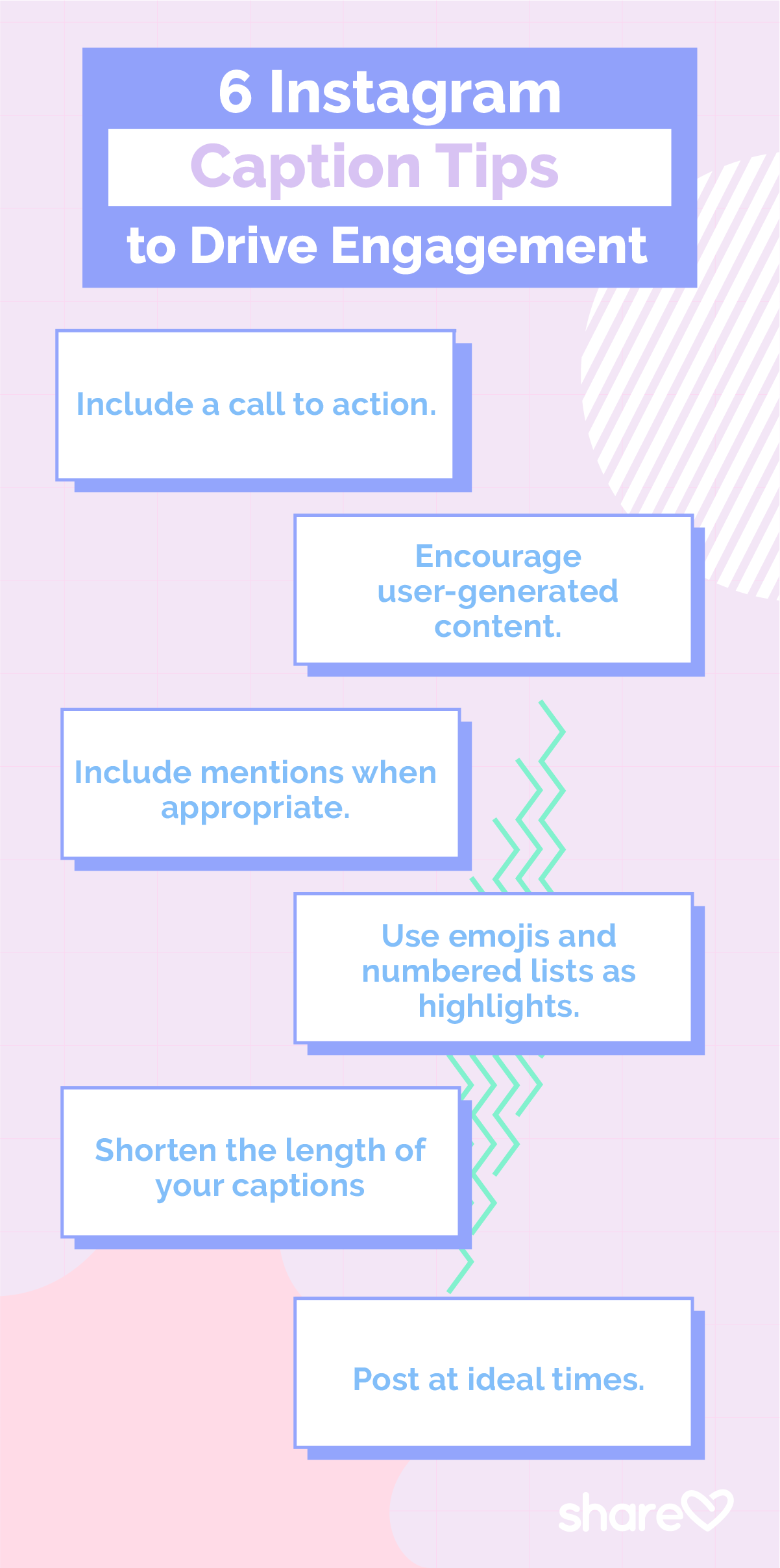 6 Instagram Caption Tips to drive engagement