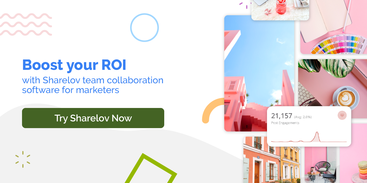 Boost your ROI with Sharelov team collaboration software for marketers