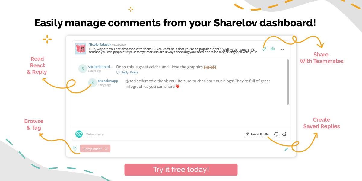 Sharelov comment manager