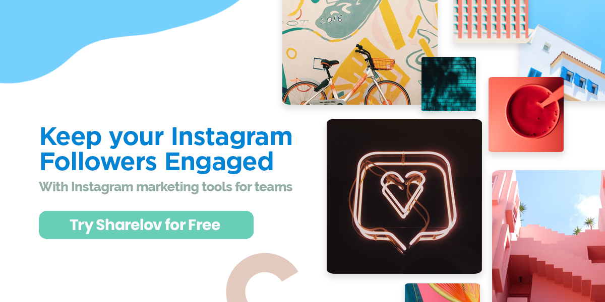 Engage Instagram followers with Sharelov