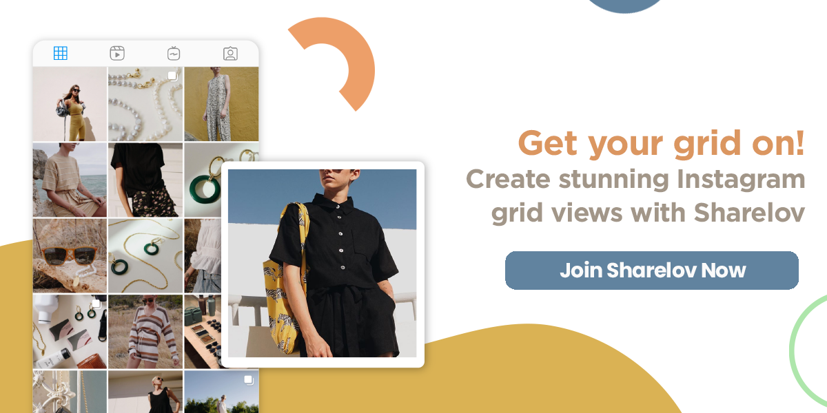 Get your grid on! Create stunning Instagram grid views with Sharelov