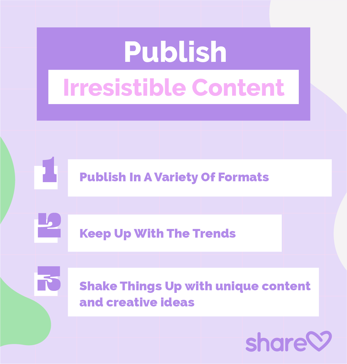 Insert artwork 4 Publish Irresistible Content