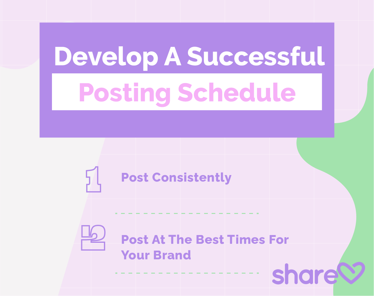 Insert artwork 5 Develop A Successful Posting Schedule