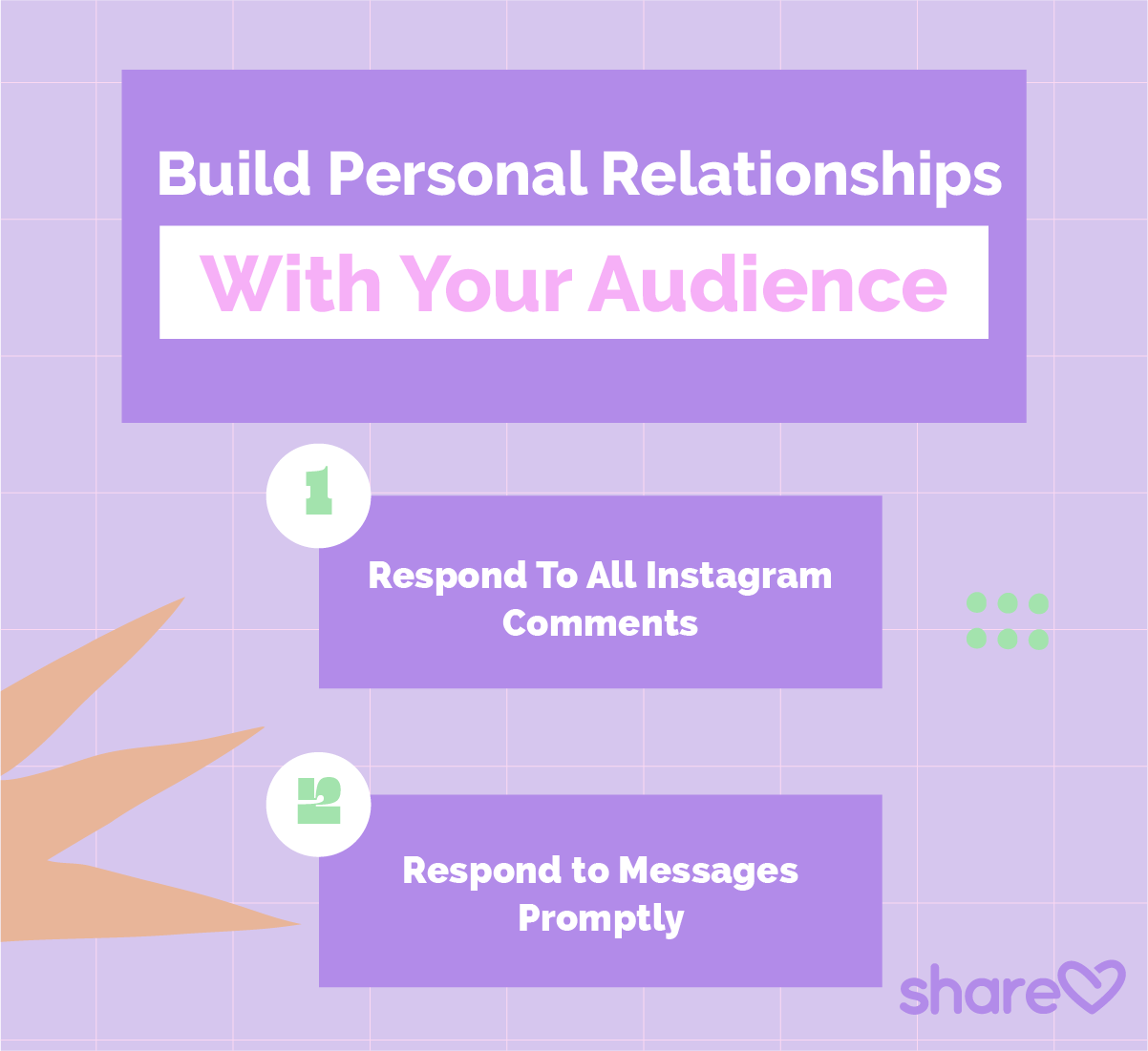Insert artwork 6 Build Personal Relationships With Your Audience