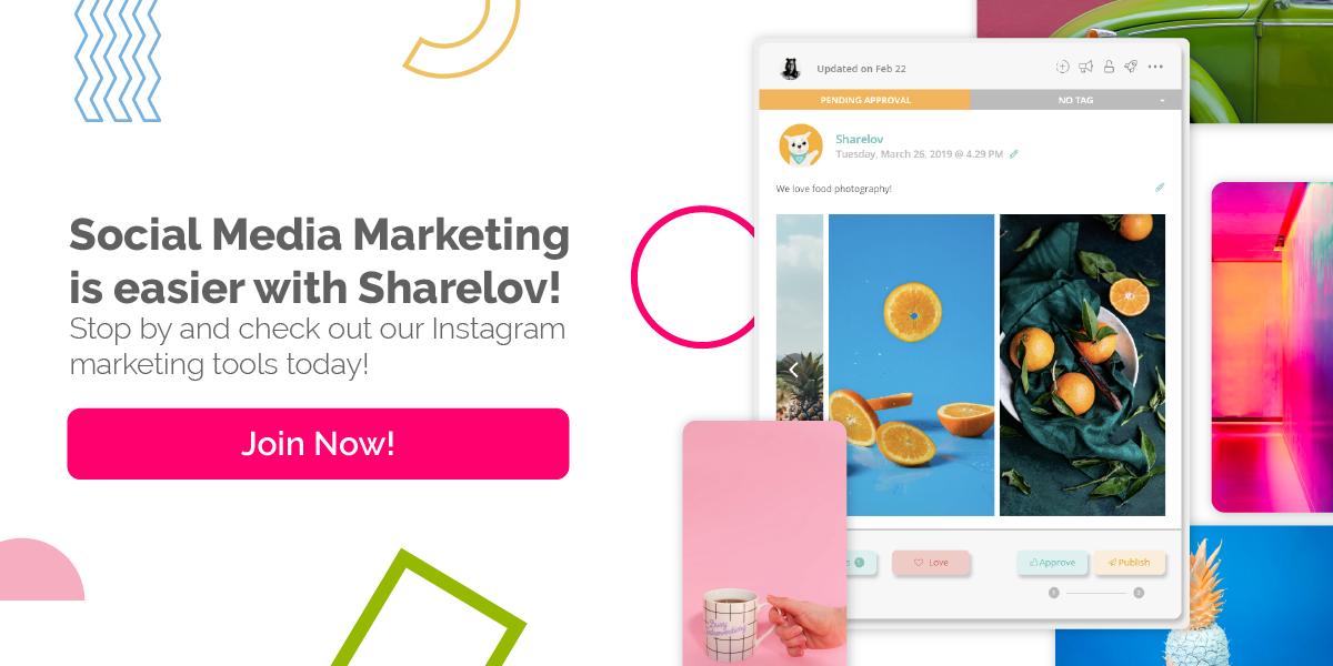 Social Media Marketing is easier with Sharelov!