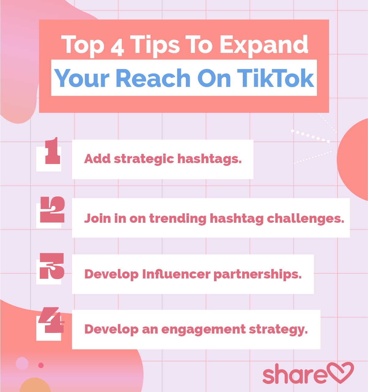 Top Tips to expand your reach on tiktok
