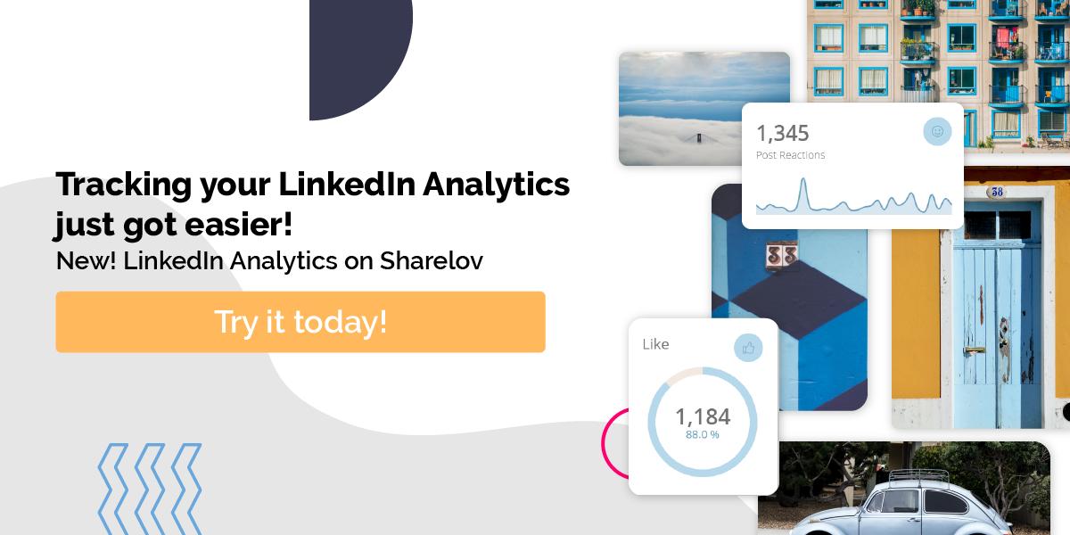tracking your linkedin analytics just got easier