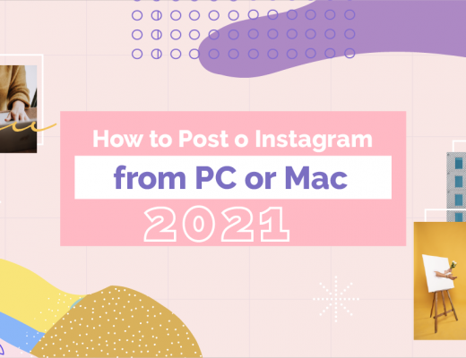 Cover - How To Post On Instagram From a PC or Mac 2021
