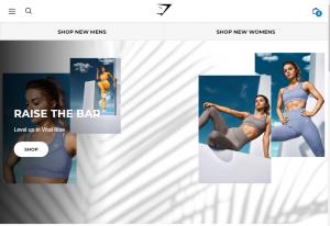 gymshark sportswear landing page
