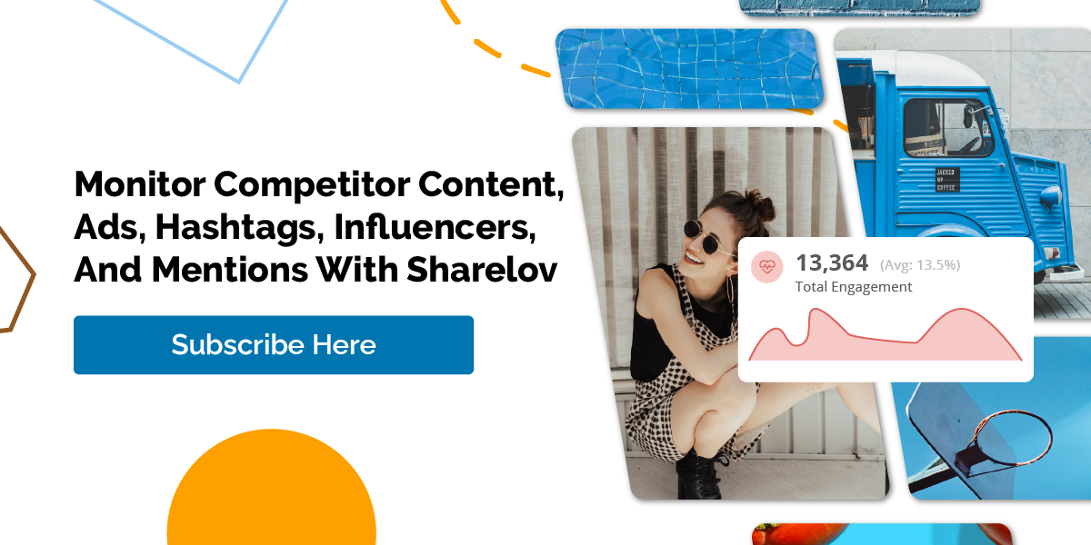 Monitor Your Competitors On Social Media With Sharelov Subscribe Today