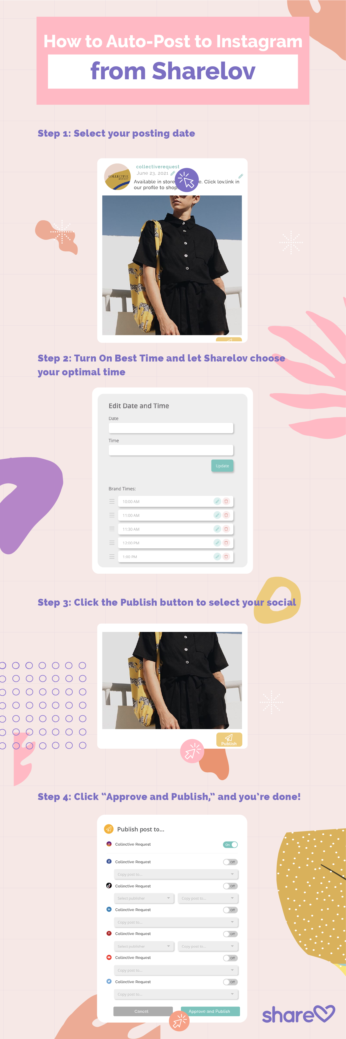 How To Post On Instagram From Your Sharelov Dashboard