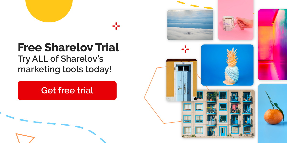 Try ALL of Sharelov's marketing tools today!